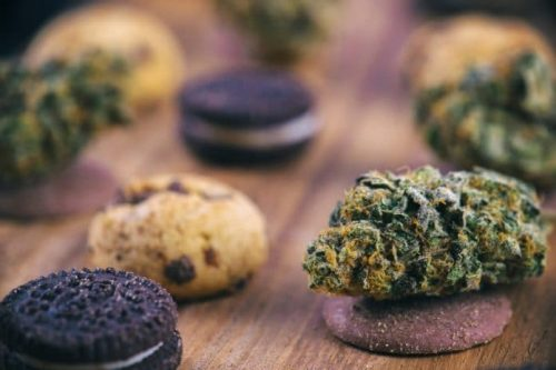 Cannabis cookie edibles without any smell