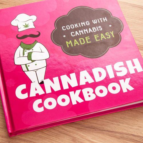 Cannabis cookbook containing 50 recipes