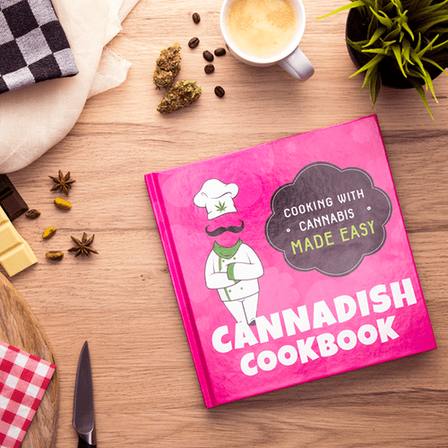 Cannabis cookbook with edibles
