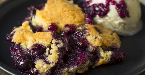 Cannabis infused cobbler recipe with berries