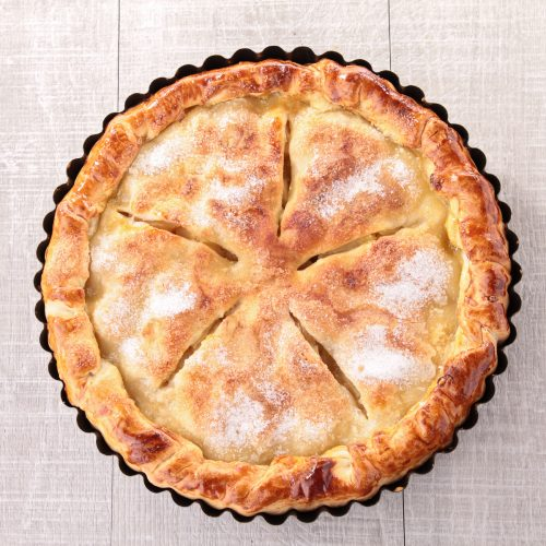 Weed infused apple pie recipe