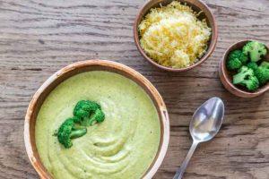 Cannabis brocolli cheese soup