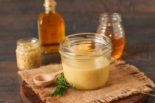 Cannabis infused honey mustard dressing recipe
