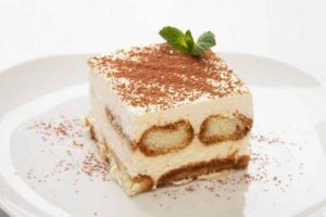 Cannabis infused tiramisu Dessert