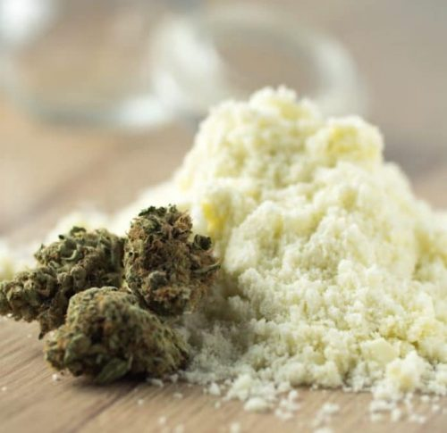 Homemade cannabis oil powder recipe