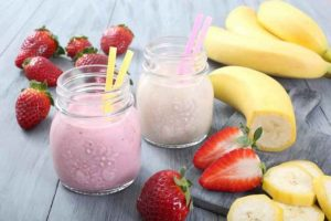 Cannabis strawberry smoothie recipe