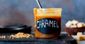 Weed infused caramel sauce