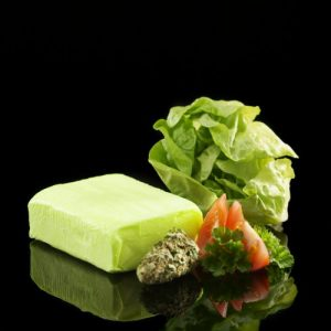 Cannabis butter with THC for weed edibles