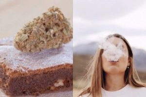Getting High from THC Weed edibles