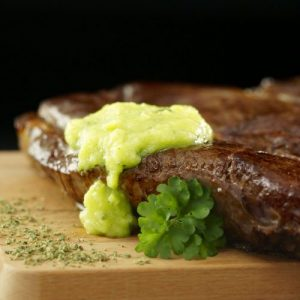 Cannabis steak and garlic butter recipe
