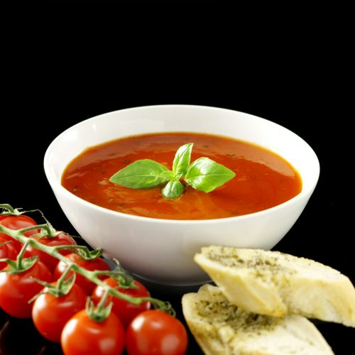 Cannabis infused tomato soup