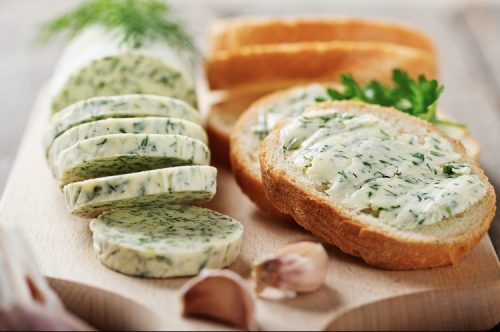 Cannabis butter with Italian herbs and garlic