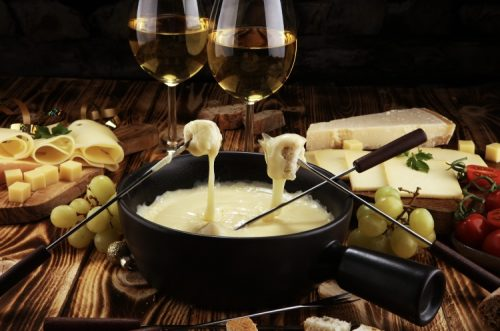 Weed infused cheese fondue recipe