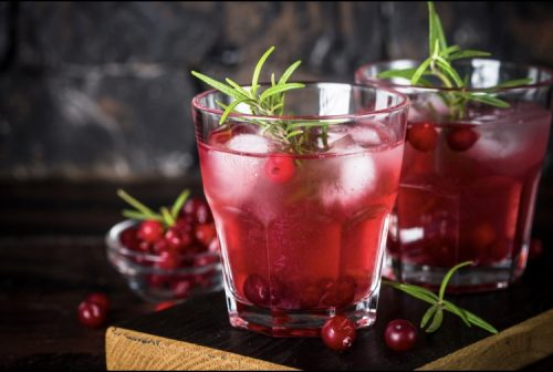 Cannabis cranberry punch for Thanksgiving