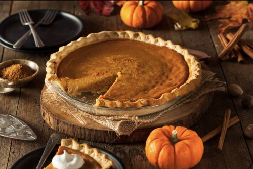 Cannabis pumpkin pie recipe