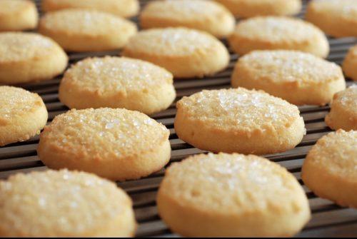 Cannabis infused sugar cookies