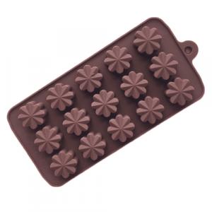 Daisies sillicone mold for cannabis edibles