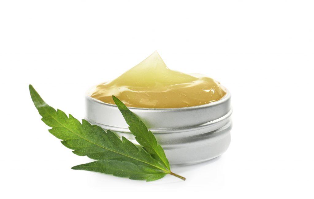 CBD skin care lotion