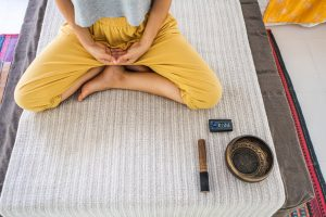 cannabis yoga at retreat