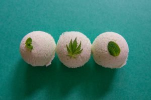 three cbd bath bombs
