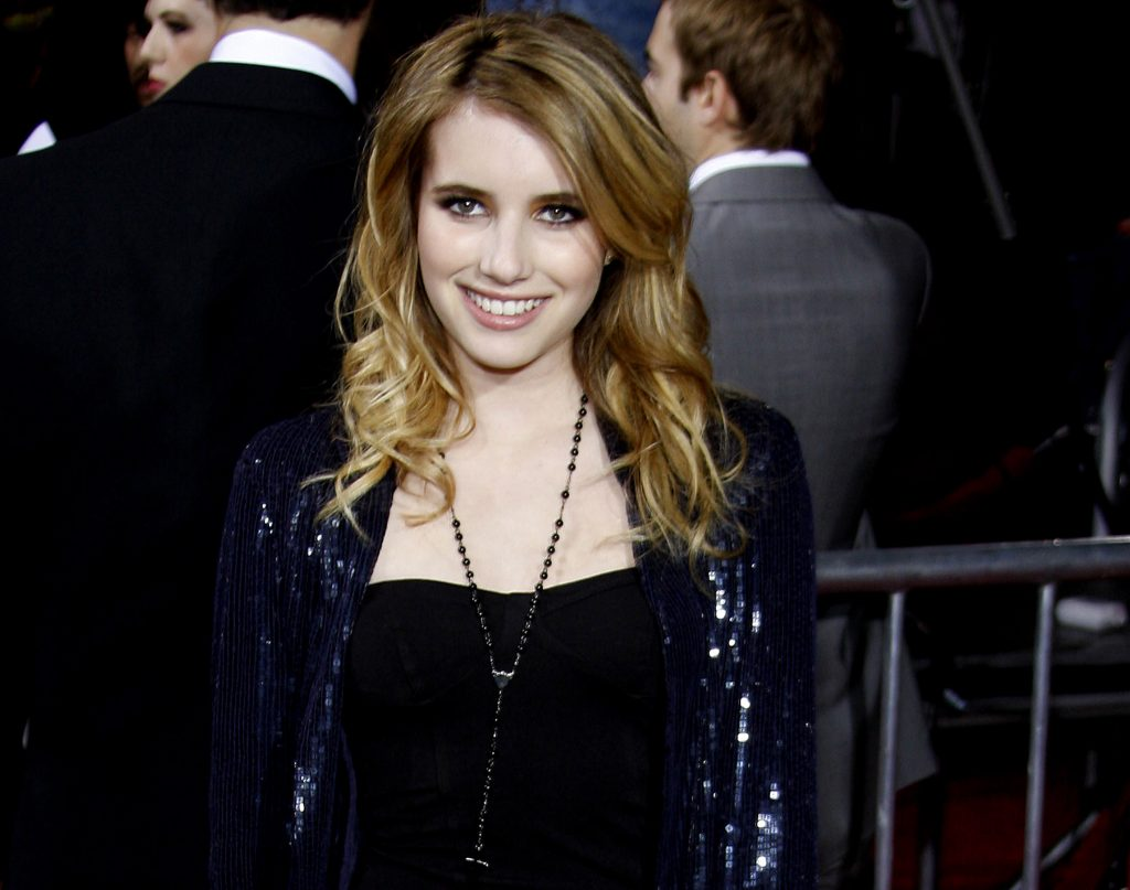photo of Emma Roberts for her love of CBD oil