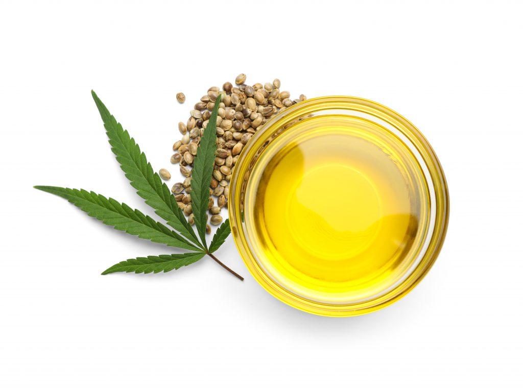jar of hemp oil