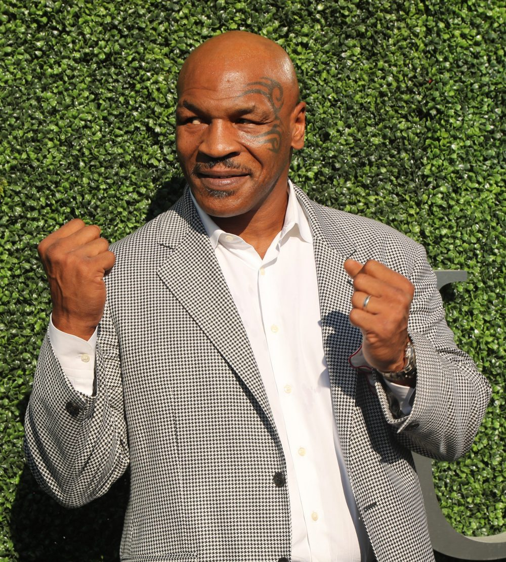 picture of Mike Tyson for cannabis ranch