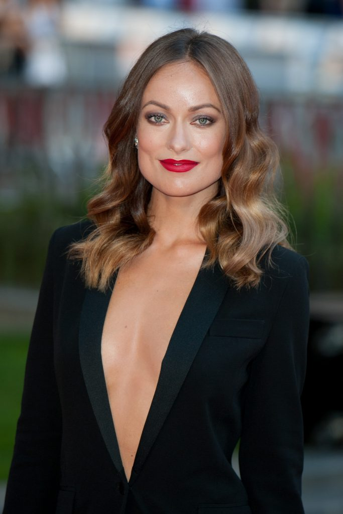 picture of Olivia Wilde because she uses CBD oil