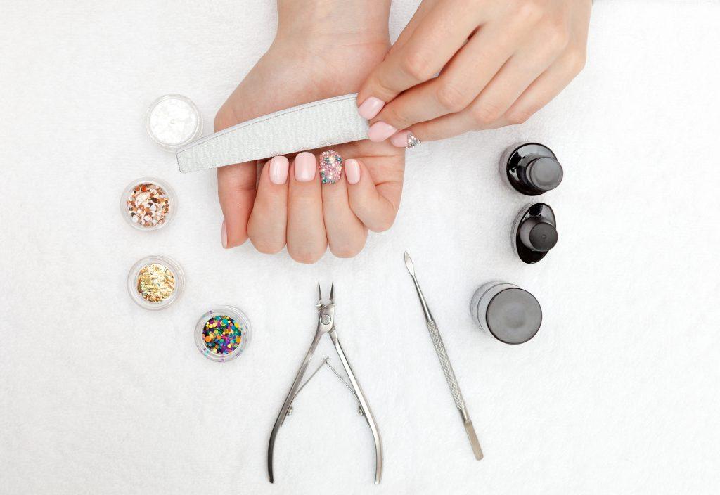 nail tools for CBD mani/pedi
