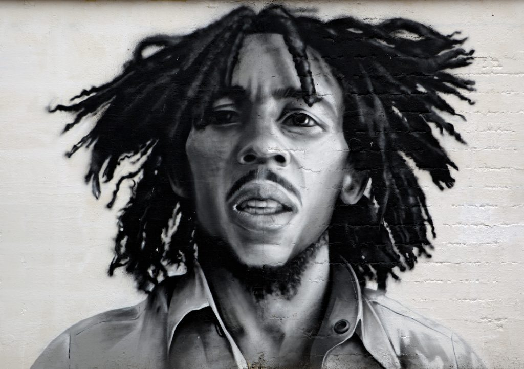 bob Marley writes weed song