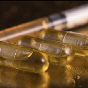 Cannabis capsules recipe filled with cannabis oil