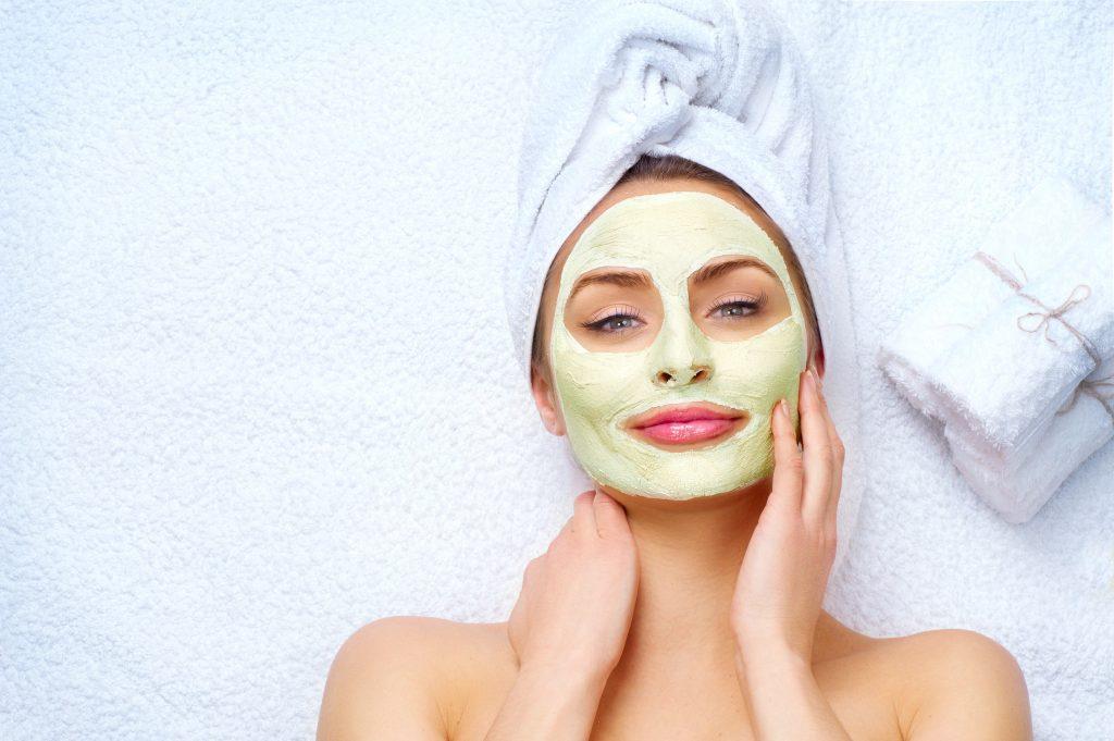 cbd beauty product cannabis face mask