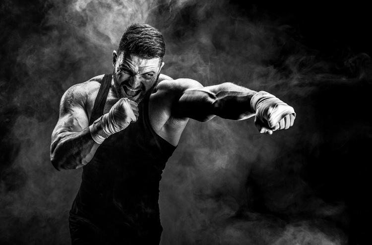 MMA fighter and CBD