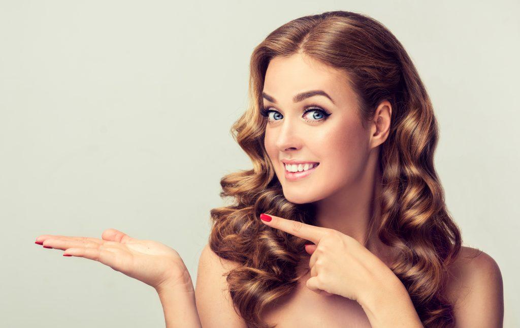 women presenting cannabis hair care
