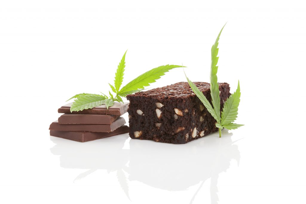 cannabis edibles weed chocolate and weed brownies