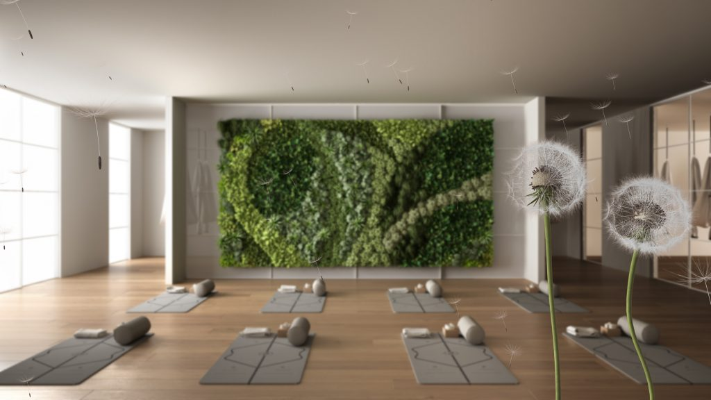 cannabis retreat room