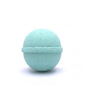 UDEA 100mg CBD peppermint bath bomb ball