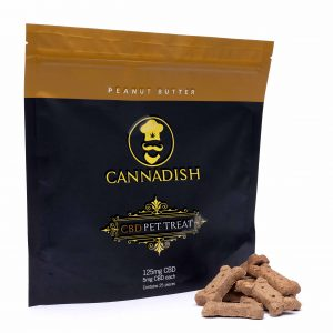Cannadish CBD dog Treats Bag