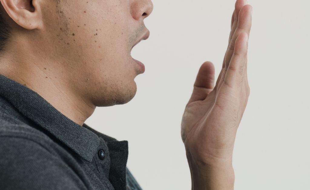 cbd oil pulling bad breath