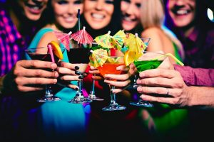 girls night weed martinis