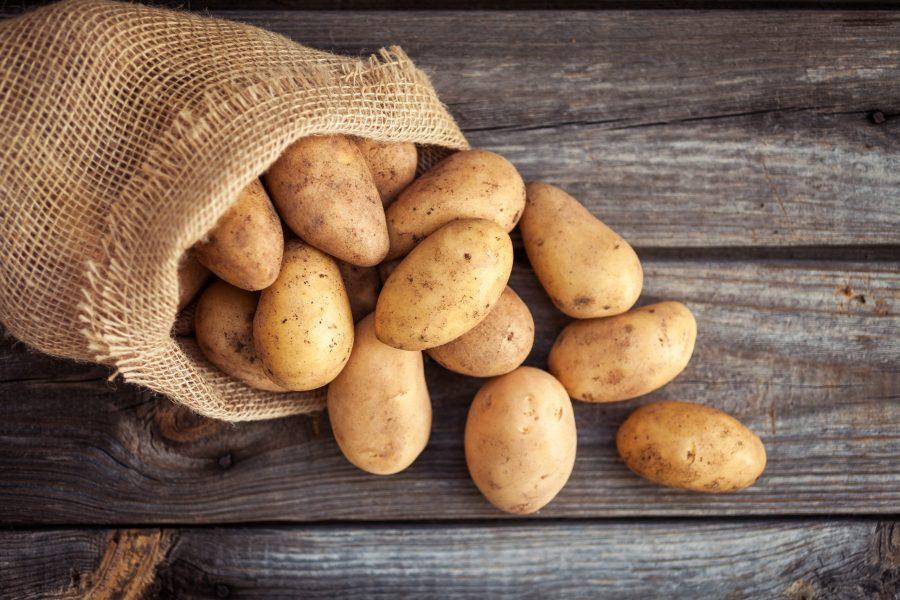 weed potatoes