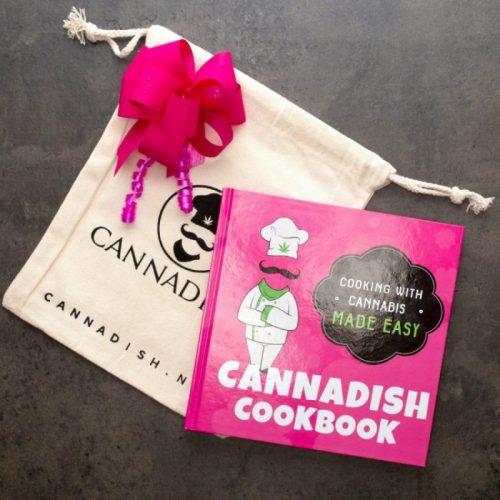 Cannabis cookbook weed gift