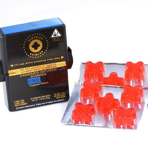 District Gummy Edibles for Sleep
