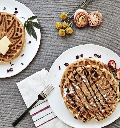 cannabis-waffles