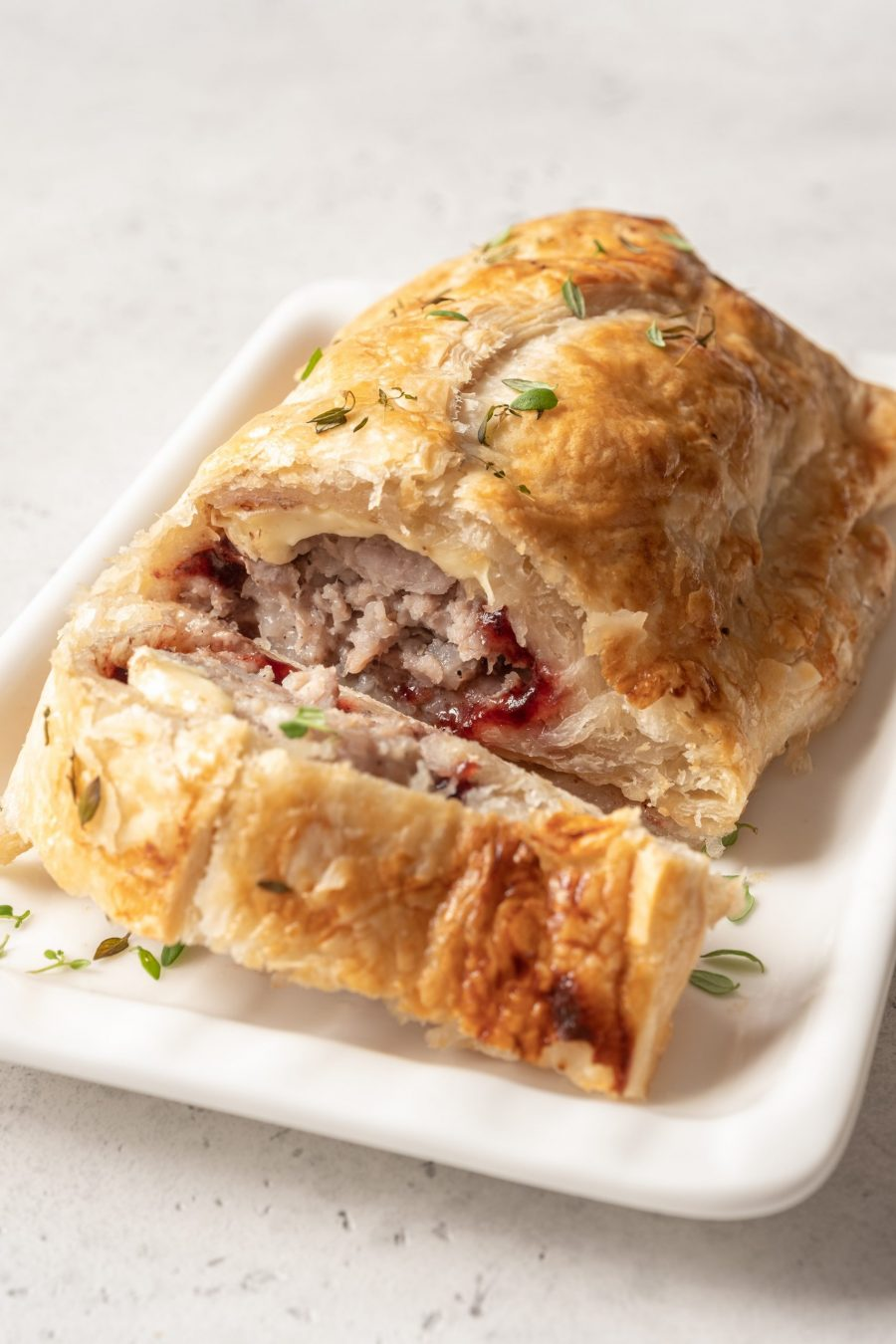 baked-cranberry-cannabis-puffed-pastry