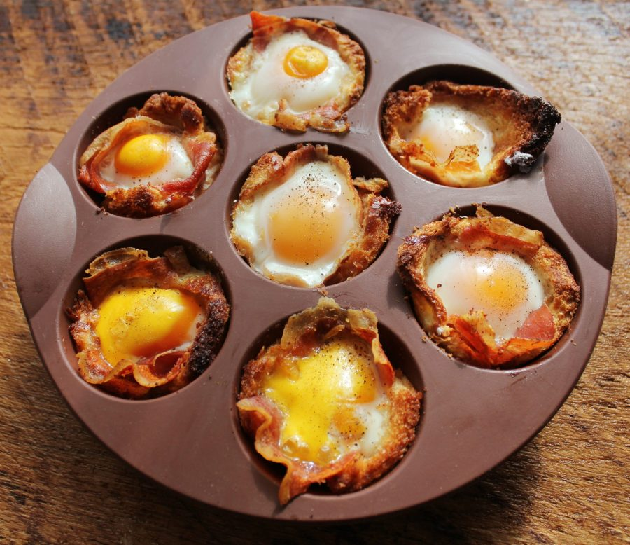 cannabis bacon and egg cups