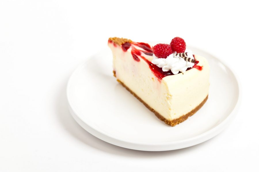 raspberry cheesecake with crust