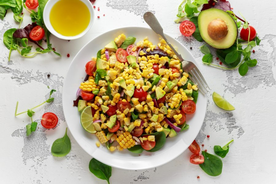 avocado-corn-salad-with-weed-oil